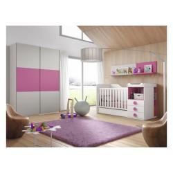Dormitorio Infantil Convertible Smile 101