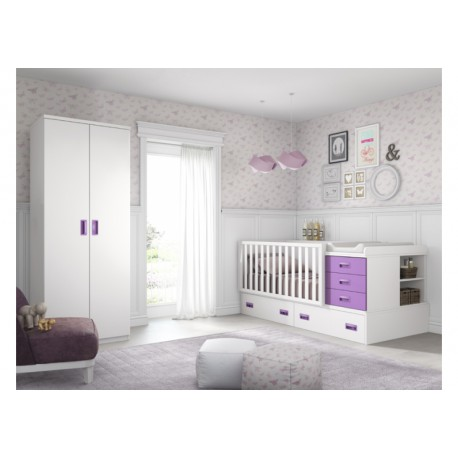 Dormitorio Infantil Convertible Smile 103