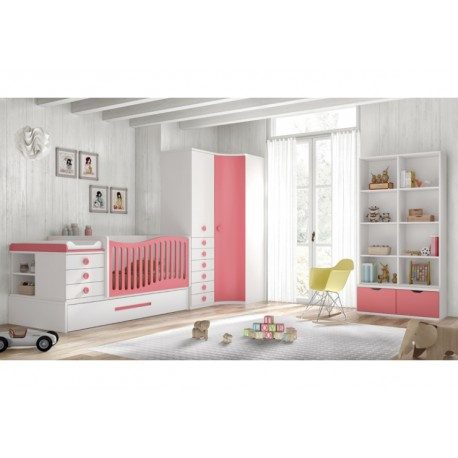 Dormitorio Infantil Convertible Smile 104