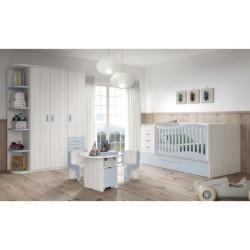 Dormitorio Infantil Convertible Smile 106
