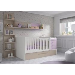 Dormitorio Infantil Convertible Smile 108
