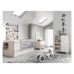Dormitorio Infantil Convertible Smile 107