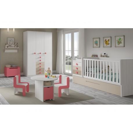 Dormitorio Infantil Convertible Smile 112