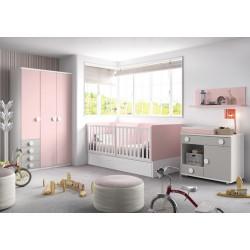 Dormitorio Infantil Convertible Smile 113