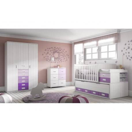 Dormitorio Infantil Convertible Smile 114