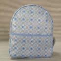 Mochila Guardería Mosaico Azul