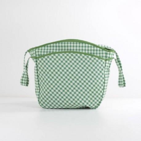 Bolsa Silla Vichy Verde