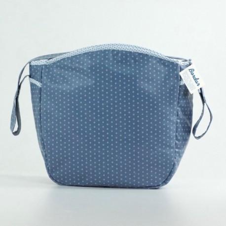 Bolsa Silla Estelas Azul