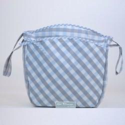 Bolsa Silla Capri Azul