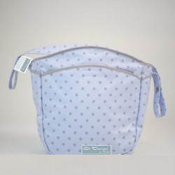 Bolsa Silla Lunar Azul