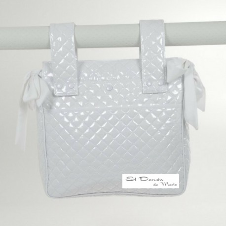 Bolsa Panera Plástico Guateado Blanco