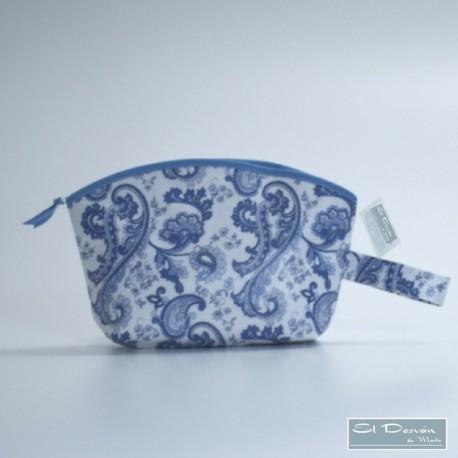 Neceser Curvo Cachemir Azul