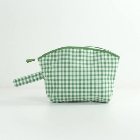 Neceser Curvo Vichy Verde
