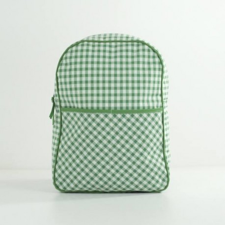 Mochila Escolar Vichy Verde
