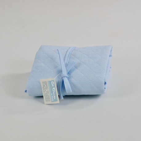 Cambiador Pañal Lavanda Azul