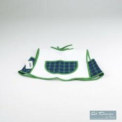 Babero Combinado Ons Verde