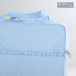 Maleta Caja Lavanda Azul