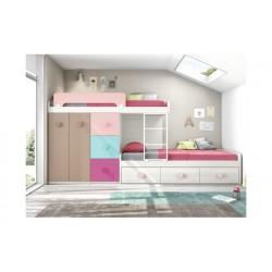 Dormitorio Juvenil Block L201