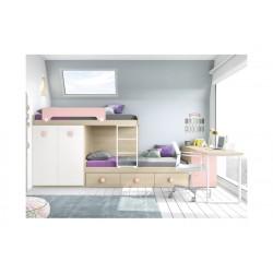 Dormitorio Juvenil Block L202
