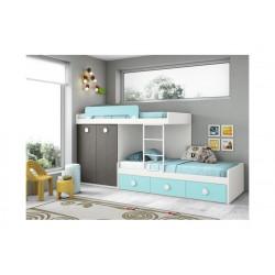 Dormitorio Juvenil Block L203