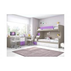 Dormitorio Juvenil Block L204