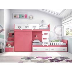 Dormitorio Juvenil Litera F253