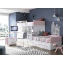 Dormitorio Juvenil Litera F254