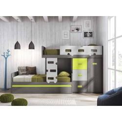 Dormitorio Juvenil Litera F255
