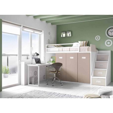 Dormitorio Juvenil Litera F260