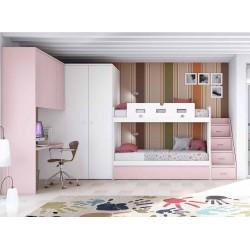Dormitorio Juvenil Litera F262