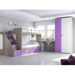 Dormitorio Juvenil Litera F264