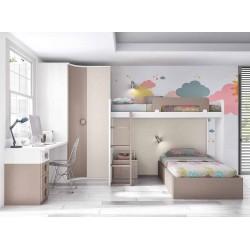 Dormitorio Juvenil Litera F265