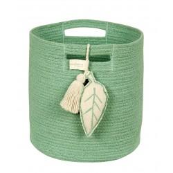 Cesta Leaf Verde
