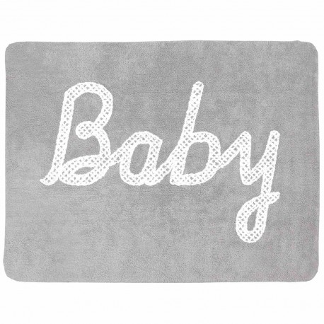 Alfombra Lavable Baby Petit Point Gris