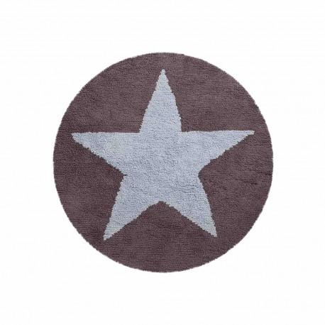 Estrella reversible Azul - Gris Oscuro