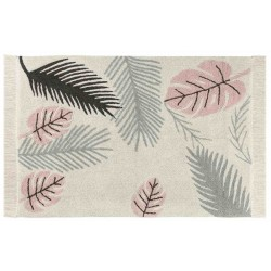 Alfombra Lavable Tropical Pink