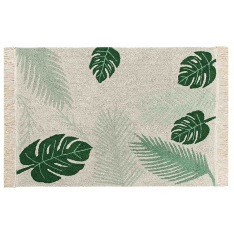 Alfombra Lavable Tropical Green