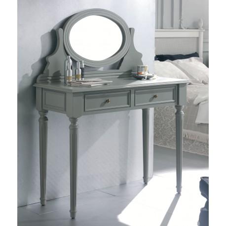 Tocador 2 cajones y espejo orientable Muebles de Ayer