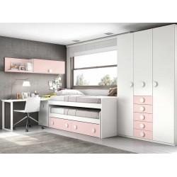 Dormitorio Juvenil Compacto L003