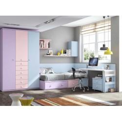 Dormitorio Juvenil Nido F150