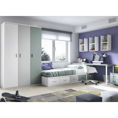 Dormitorio Juvenil Nido F152