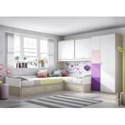 Dormitorio Juvenil Nido F153