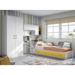 Dormitorio Juvenil Nido F154