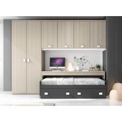 Dormitorio Juvenil Nido F156