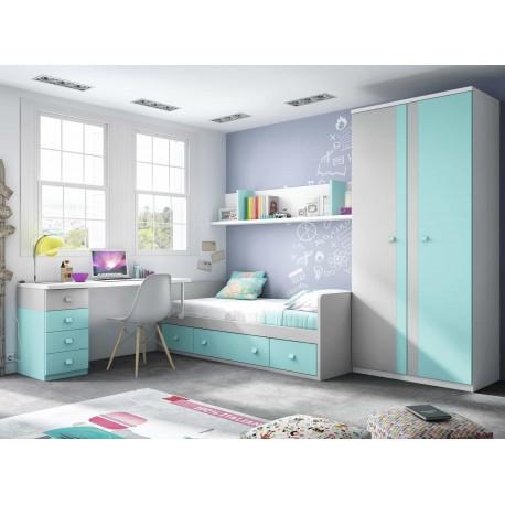 Dormitorio Juvenil Nido F158