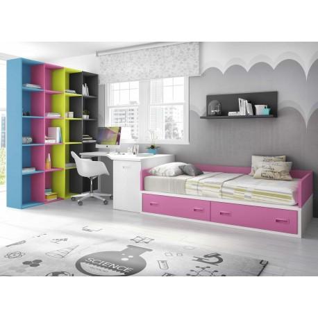 Dormitorio Juvenil Nido F159