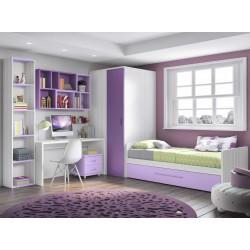 Dormitorio Juvenil Nido F161