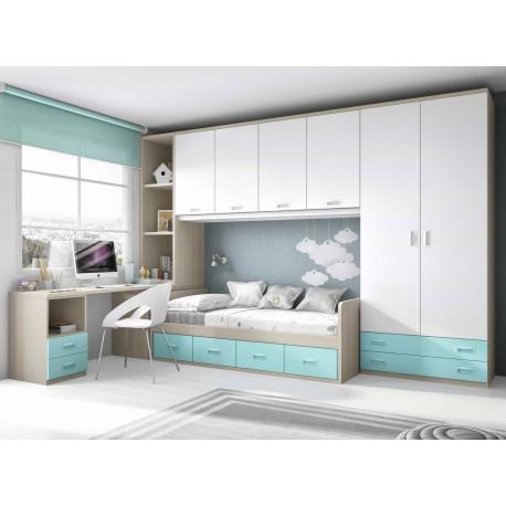Dormitorio juvenil nido f162 de glicerio chaves for Dormitorio nido