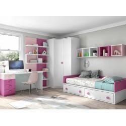 Dormitorio Juvenil Nido F163