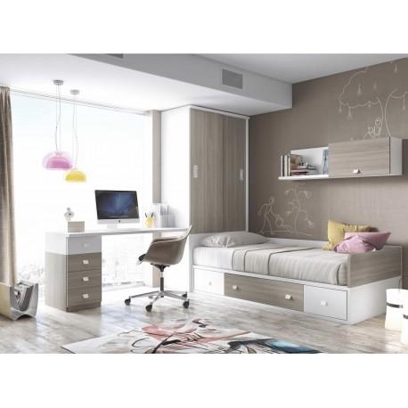 Dormitorio Juvenil Nido F164